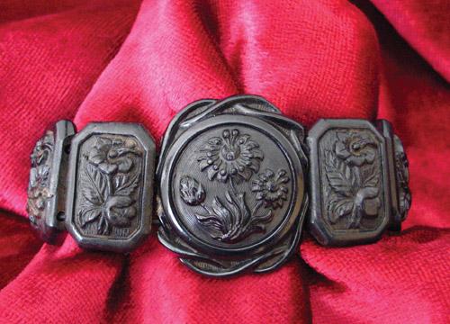 Pressed Horn Bracelet