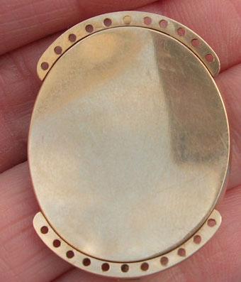 Angel Neoclassical Sepia Bracelet