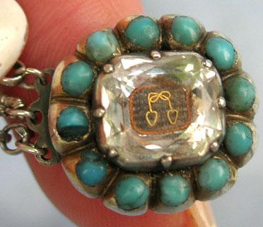Stuart Crystal, Sentimental, Mourning, Bracelet, Gold Cypher, Cipher, 17th Century