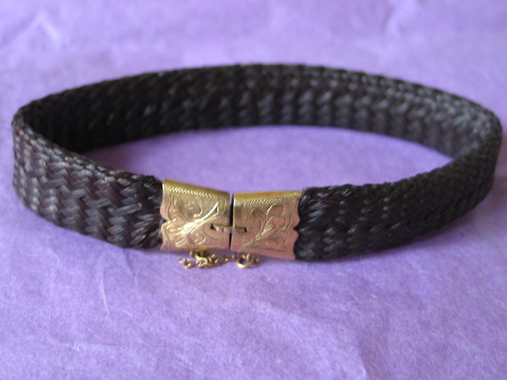 Hairwork Bracelet