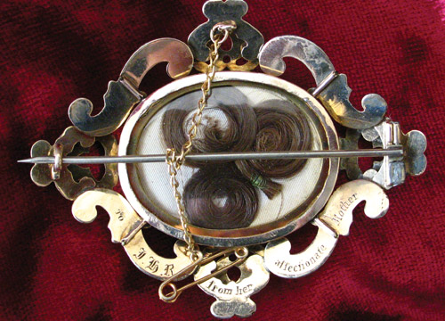 1860 Sentimental Brooch