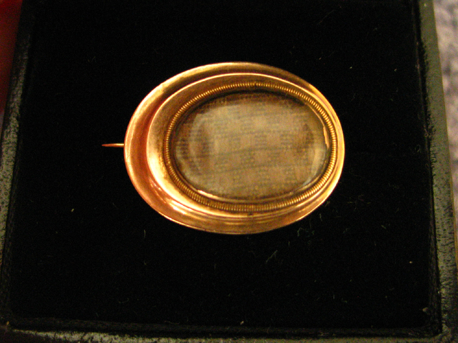 Crescent 19th Century Brooch