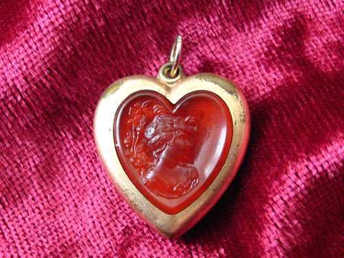 Edwardian Heart-Shaped Locket