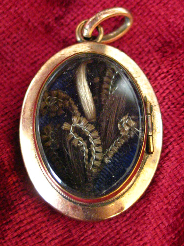 Swiss Hairwork Locket