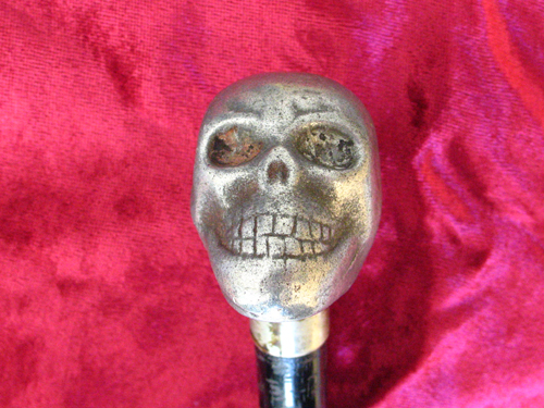 Memento Mori Skull Walking Stick