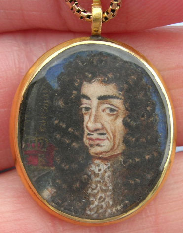Charles II Locket
