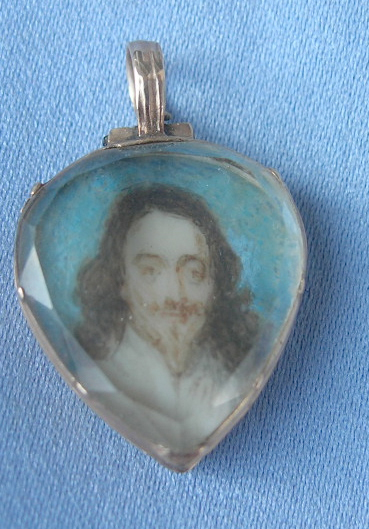 Charles I Locket