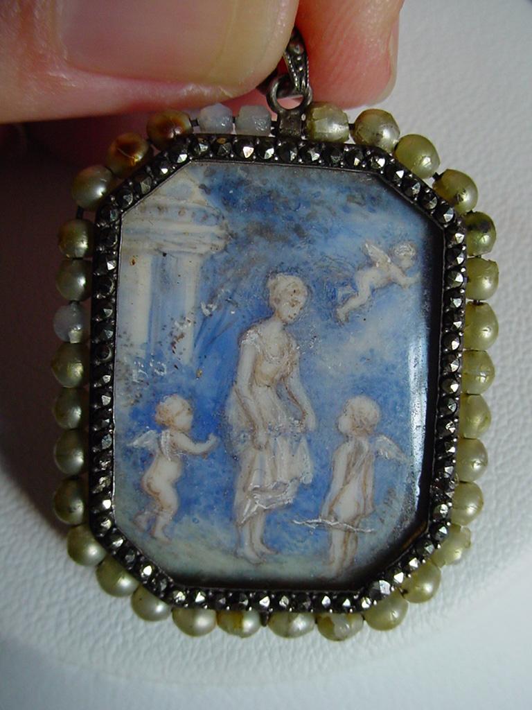 Neoclassical Revival Pendant, 1920