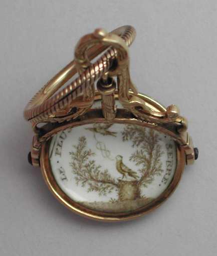 Sepia Watch Fob
