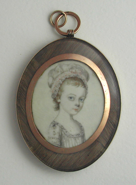 John Barry Miniature Portrait 1785