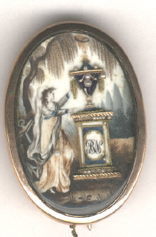 Don Shelton Mourning Miniature