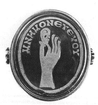 Roman Mourning Ring