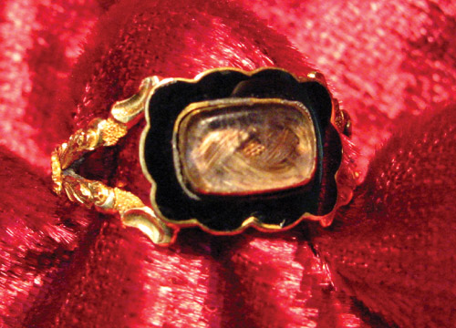William Nethersole Mourning Ring, c.1834