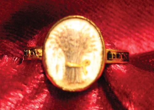 Wheat Sheaf Ring, 18th Century