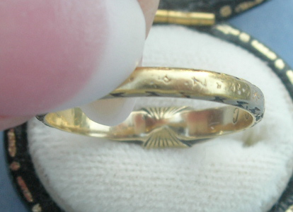 1699 Mourning Ring