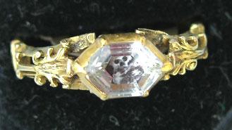 Memento Mori Rococo Stuart Crystal Skull Ring