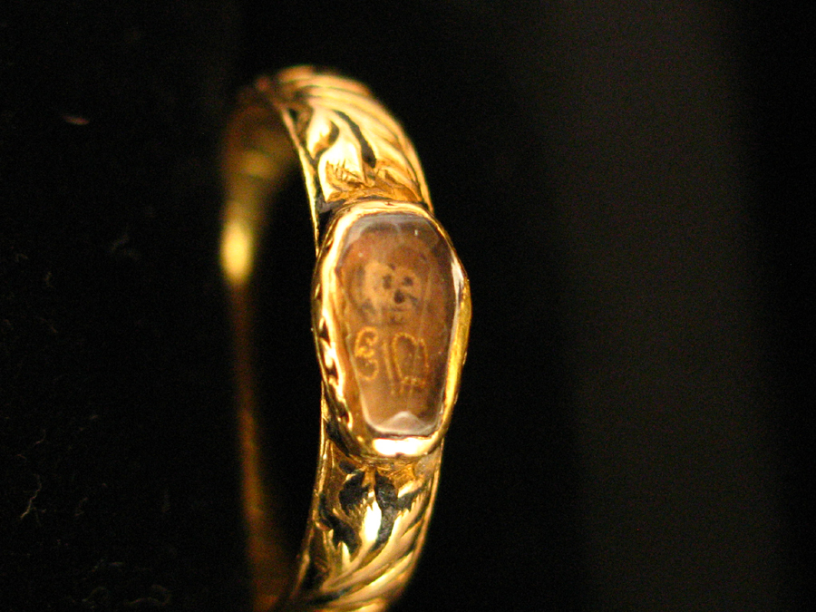 memento mori coffin ring