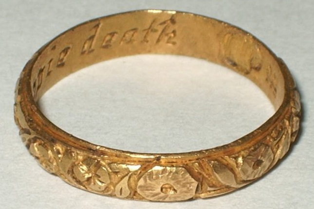 18th Century Posy Ring