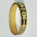 Skeletal Memento Mori Band / 18th Century