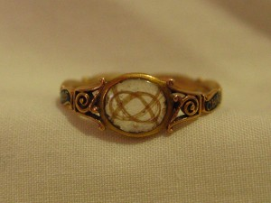 Chas Fraser / OB: 16 April 1746 / Born: May 23/ 1725 Mourning Ring