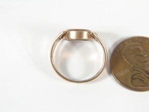 Agate Swivel Ring