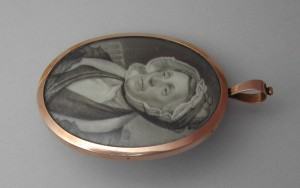 Grisaille Miniature Portrait Neoclassical