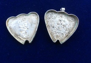 Charles II Locket Open