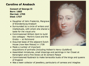 Queen Caroline Of Ansbach