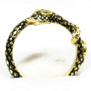 William Harry Vane, 1st Duke of Cleveland 1842 Serpent Ring
