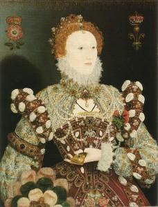 Portrait Hiliard Pelican Elizabeth I
