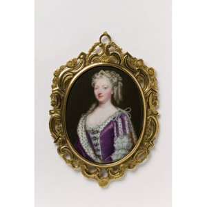 Caroline of Ansbach Miniature c.1732
