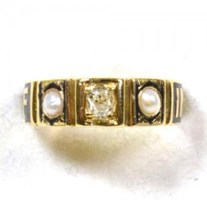 Edgar Mourning Ring, 1899