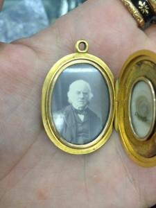 William Henry Smith Mourning Locket