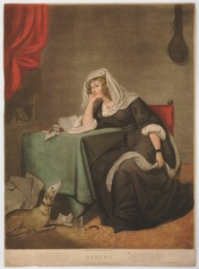 Albina, 1791 (a young woman in mourning dress)