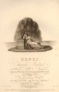 Henry Ballad Mourning 1808