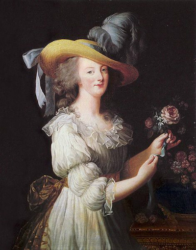 Marie Antoinette, La reine en gaulle, 1783