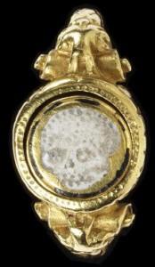 c.1600 skull memento mori ring