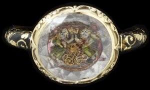 1701 memento mori ring