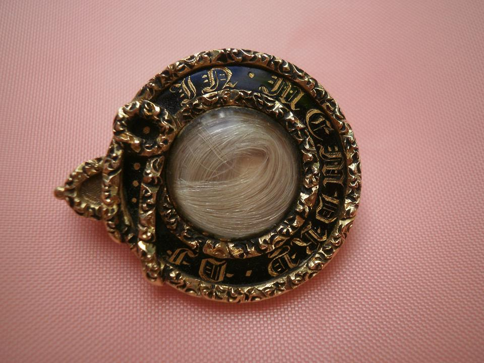 William Busby Mourning Brooch