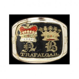 Lord Nelson Mourning Ring