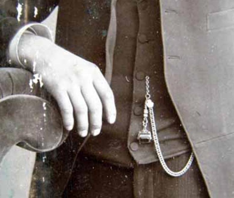 tintype albert chain