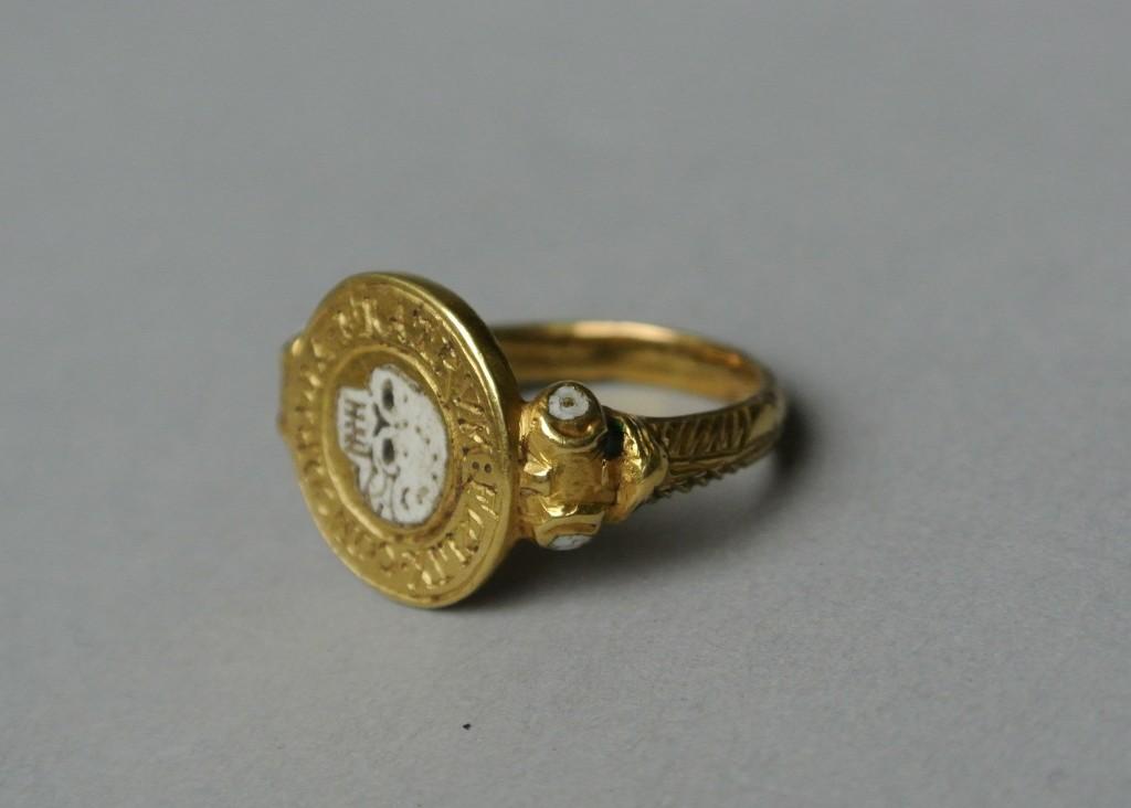 1803 Green Enamel Mourning Ring Part 1 Art Of Mourning