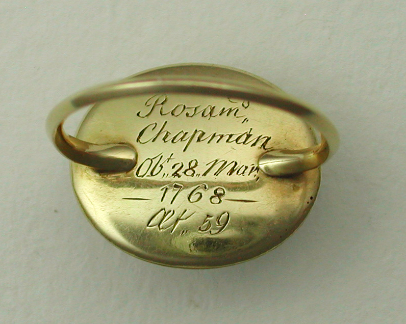 Rosamund Chapman Classical Ring 1768 / Age 59