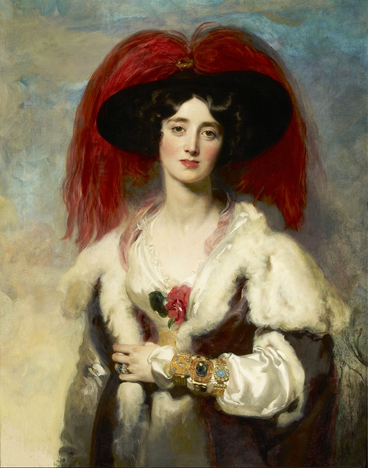 Lady Peel by Sir Thomas Lawrence