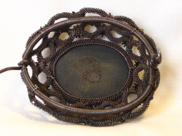 Silesian iron wire-work brooch, c.1825