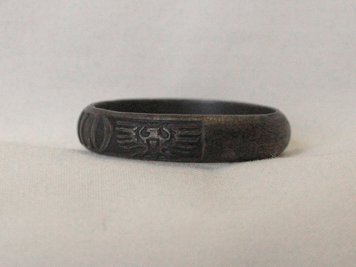 WWI Gold for Iron Berlin Iron Ring
