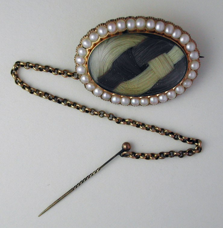 Mourning Brooch, c.1869