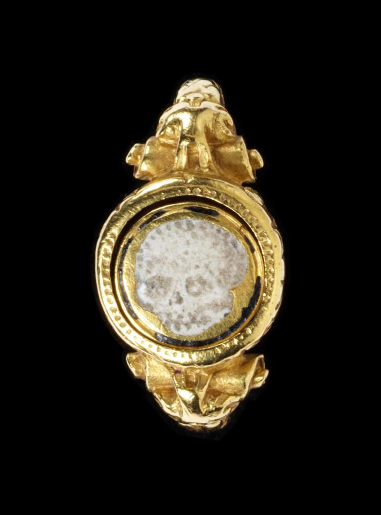 English Memento Mori Ring, c.1600