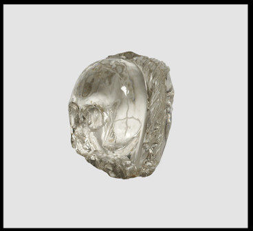 French Carved Rock Crystal Skull, c.1450-1500