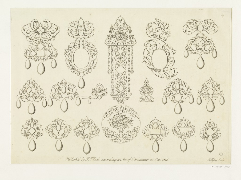 A book of jewellers work design'd by Thoma Flach in London